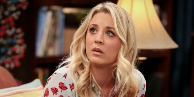 La actriz Kaley Cuoco, en la serie 'The Big Bang Theory'.