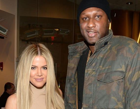 Khloe Kardashian was told Lamar Odom had died
