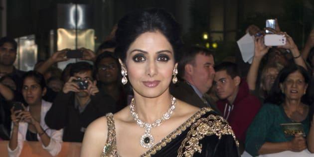 L'actrice indienne Sridevi Kapoor, star de Bollywood, est décédée