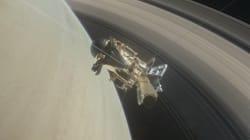 La sonde Cassini entame son grand plongeon entre Saturne et ses