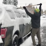 'Too Soon!' Calgary Cries, As Wallop Of October Snow Hits