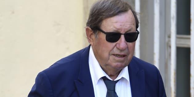 Guy Roux, aux obsèques de Louis Nicollin, le 4 juillet dernier.