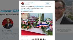 Ce député LREM fait la promo d'un concert d'Indochine pendant une cérémonie de