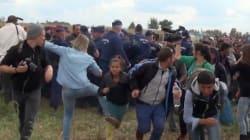 La journaliste hongroise qui avait frappé des migrants a été