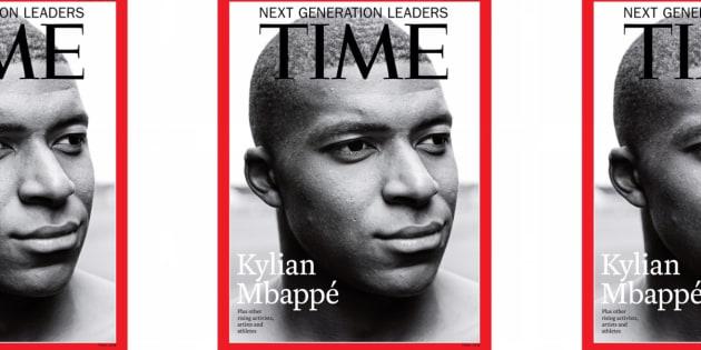 """Kylian Mbappé, """"leader de la nouvelle génération"""", fait la une du """"Time"""""""