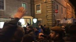 Più carabinieri che estremisti. Solo una ventina di Forza Nuova in piazza con Fiore. Macerata blindata (dall'inviata G.
