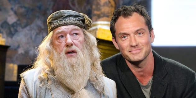 """""""Les Animaux fantastiques"""" ont trouvé leur Albus Dumbledore"""