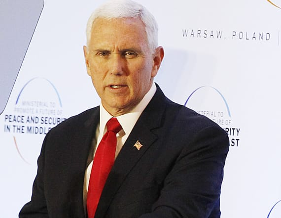 Pence to E.U.: Withdraw from Iran nuclear deal