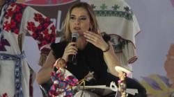 Beatriz Gutiérrez Müller da la bienvenida a la