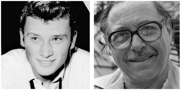 Johnny Hallyday et Tennessee Williams.