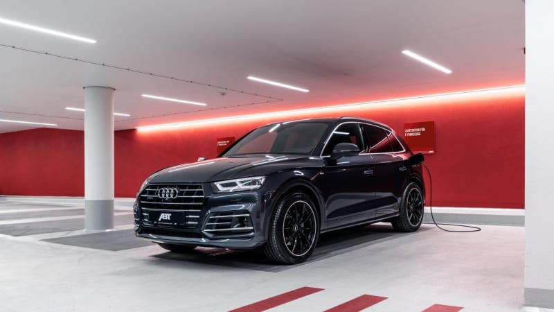 2020 Audi Q5 PHEV gets tuned by Abt to over 400 horsepower