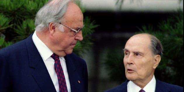Pourquoi la relation Kohl-Mitterrand symbolise parfaitement l'amitié franco-allemande