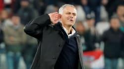 Mourinho provoca i tifosi della Juve: