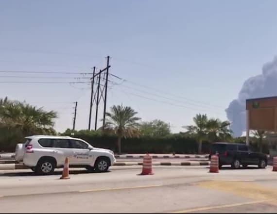 Iran denies it was behind Saudi oil attacks