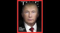 Trump et Poutine ne font plus qu'un en couverture de