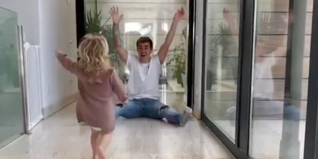 Cette vidéo de Griezmann et sa fille fait craquer les fans