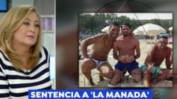 La dura respuesta de Elisa Beni a uno de 'La Manada' tras lo que escribe de ella y de su víctima de San Fermín en una