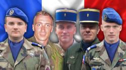 L'armée de terre rend hommage aux 5 militaires morts dans le crash