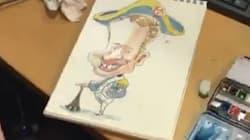 Un dessinateur nous livre ses techniques pour caricaturer Macron comme un