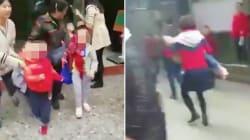 Terror en un kínder de China: mujer apuñala a 14