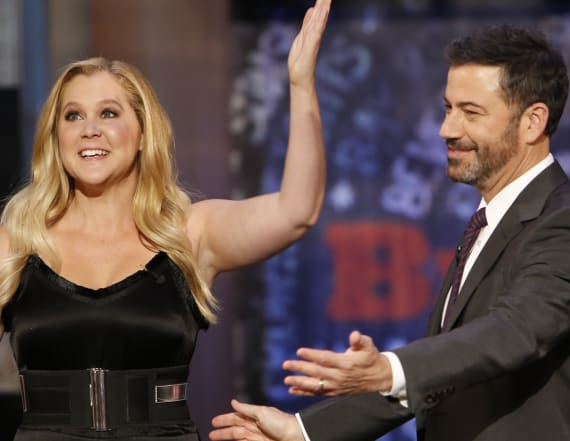 Amy Schumer, Jimmy Kimmel &more help launch anti-NRA