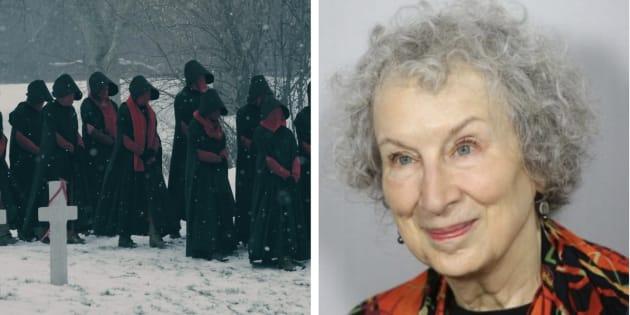 """""""O Conto da Aia"""" foi publicado pela escritora canadense em 1985 -- e voltou no formato de série em 2017."""