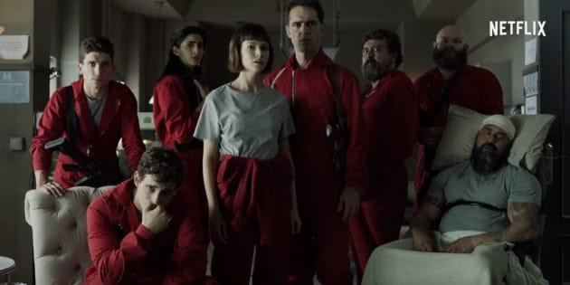 """""""La Casa de papel"""" saison 2: la bande-annonce explosive de la série Netflix"""