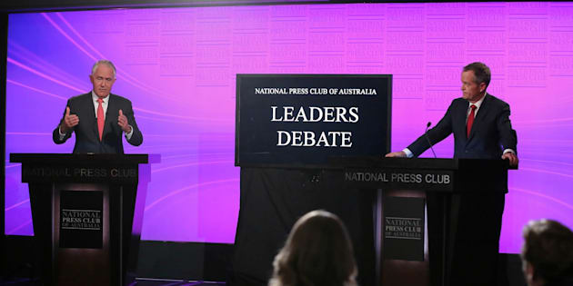 The leaders' debate, from Canberra