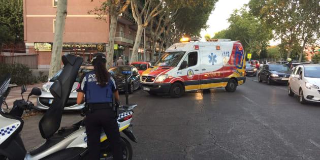 Un equipo de Emergencias Madrid, en una imagen de archivo.