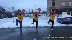 Pour lutter contre la vague de froid au Canada, ils font la meilleure des