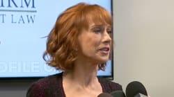 En pleurs, Kathy Griffin accuse Donald Trump de vouloir ruiner sa