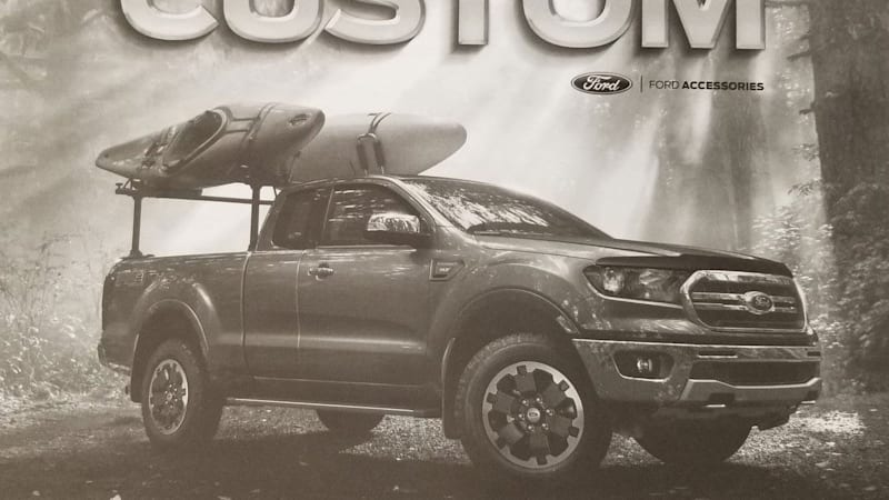 2019 Ford Ranger accessories list leaks, reveals a ton of options