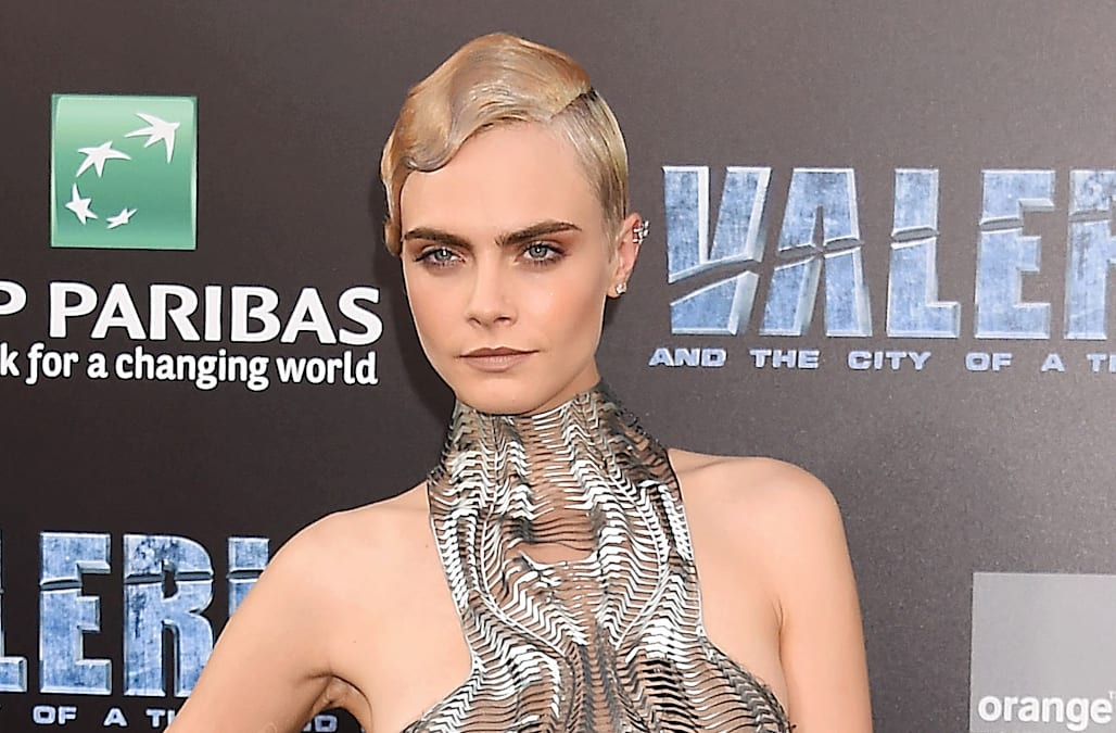 c4e373fc50f 'Valerian' premiere: Rihanna, Cara Delevingne and Kendall Jenner steal the  show