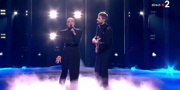 Eurovision 2018: revivez la prestation de Madame Monsieur pour la France