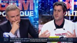 Aux antipodes sur le plan des idées, François Ruffin n'a pas hésité à défendre Éric
