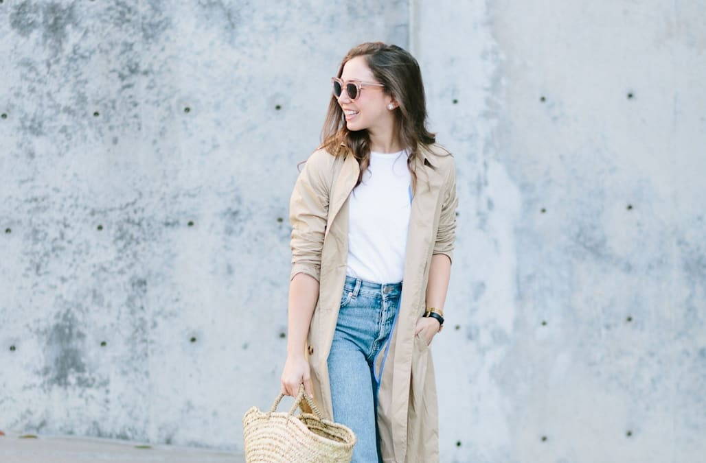 04581cb9646 Street style tip of the day  Trench coat weather - AOL Lifestyle