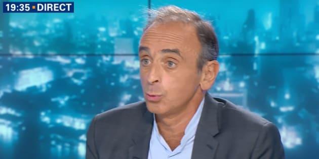 """Eric Zemmour accuse Thierry Ardisson d'avoir """"provoqué"""" la polémique sur le nom d'Hapsatou Sy"""