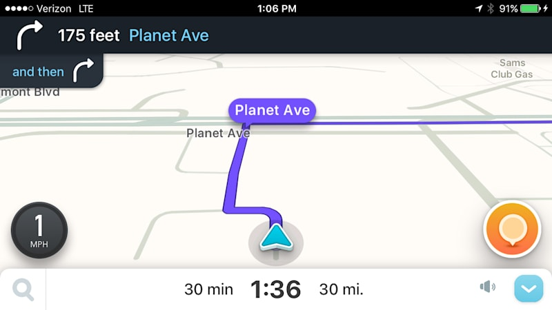 Waze now lets you use your own voice for navigation instructions