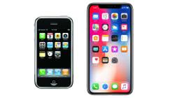 L'évolution de tous les iPhone jusqu'à l'écran intégral, en