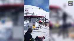 Georgia Ski Lift Malfunction Hurls People Into Air, Injuring