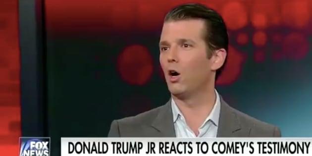 Donald Trump Jr. voulait défendre son père face au FBI... mais l'a contredit directement