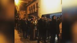 Les fans ont attendu une bonne partie de la nuit dans le froid pour voir Star Wars 8 au Grand