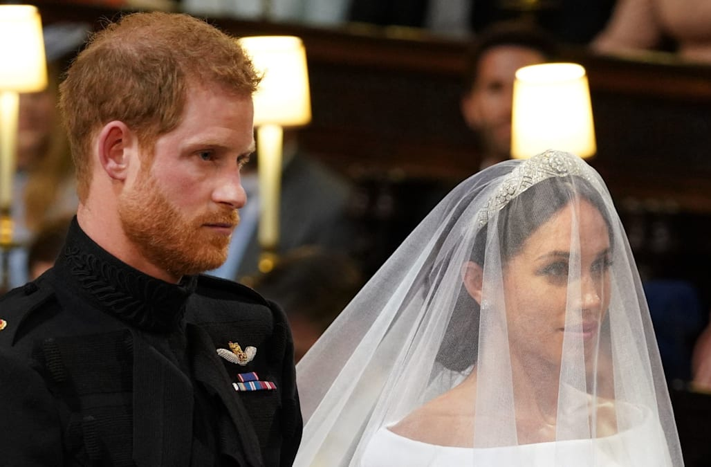 Meghan Markle stuns in gorgeous Givenchy wedding gown: Pics! - AOL ...