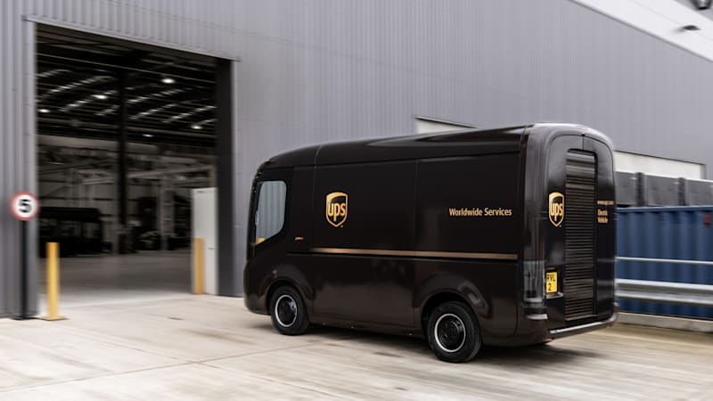 UPS ordering 10,000 EV delivery vans from Arrival, using Waymo for deliveries