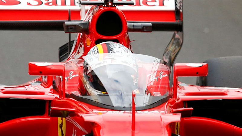 First test of Formula 1 shield cut short Vettel reports dizziness - Autoblog & First test of Formula 1 shield cut short Vettel reports dizziness ...