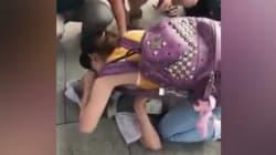 Una estudiante de medicina reanima a un hombre que había sufrido un paro