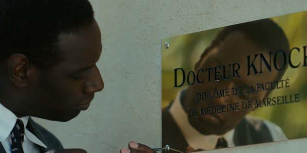 """""""Knock"""", le dernier film d'Omar Sy ne parle pas de médecine mais de... politique."""