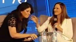 Monica Lewinsky abandona una entrevista en vivo cuando le preguntan sobre Bill