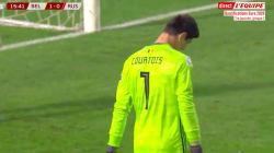 L'énorme bourde du gardien belge Thibaut Courtois face à la