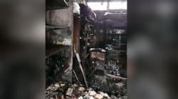 Les images exclusives dans l'épicerie casher de Créteil ravagée par